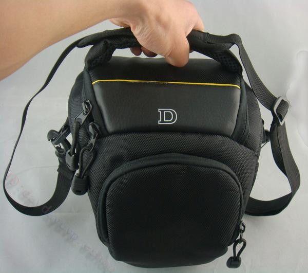 DSLR Digital Camera Bag Case Fit Nikon D90 D5100 D7000 D3100 D80 D3200 D5200 P500