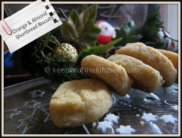 Find more like this: http://www.superkitchenmachine.com/2012/17688/thermomix-gift-recipe.html #Thermomix Orange & Almond Shortbread