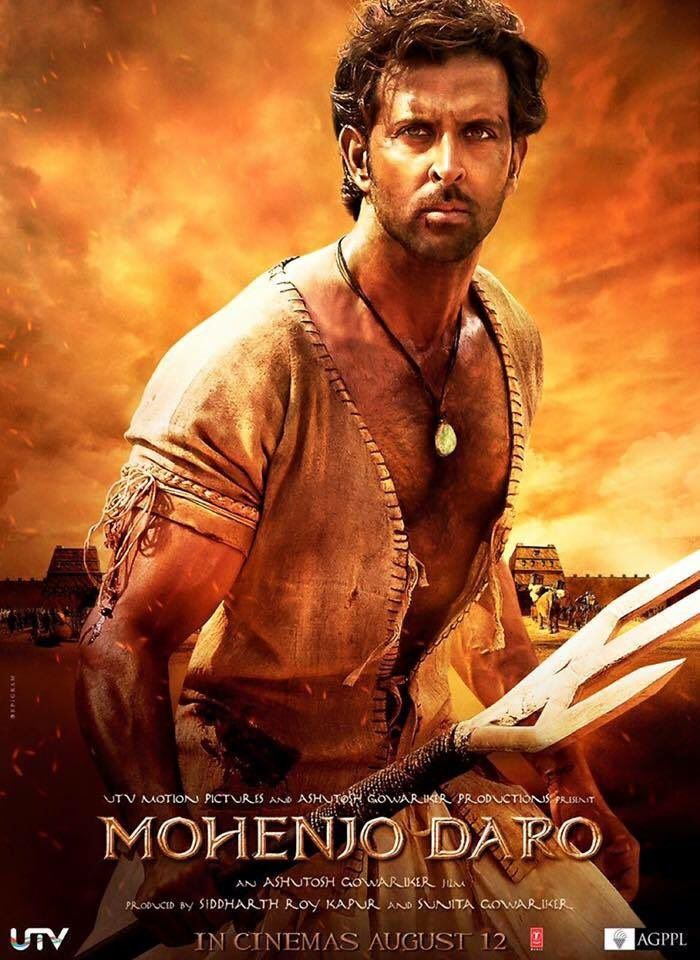 "Check out! The first look poster of Hrithik Roshan's ""Mohenjo Daro"""