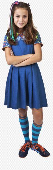 Bia, a malvada e bruxa do Colégio Adolescente.