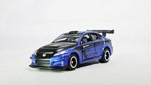 TOMICA ToysRus Exclusive LEXUS IS F CCS-R Vehicle Race Car Diecast Black & Blue