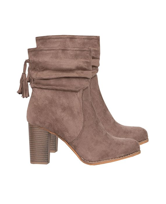 Suede Hakken Limited Taupe | Musthaves For Real