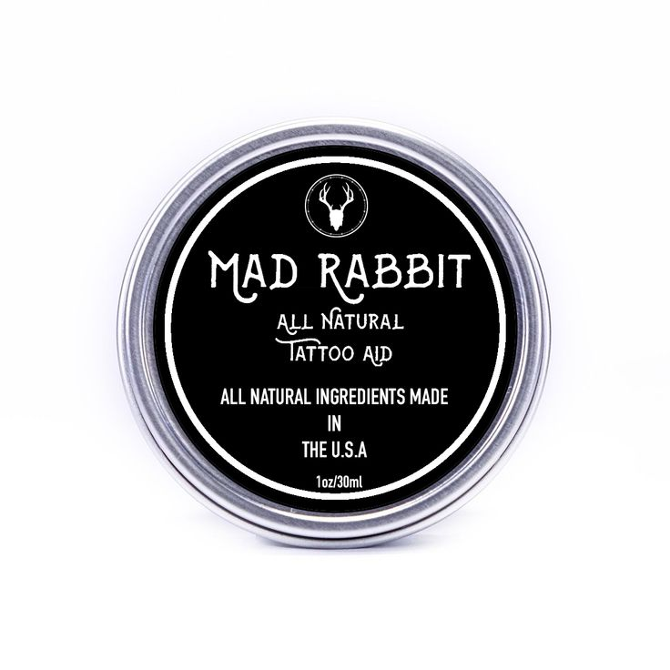 Mad rabbit the balm rabbit tattoos aftercare