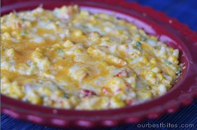 Hot Corn Dip - this sounds delish!!