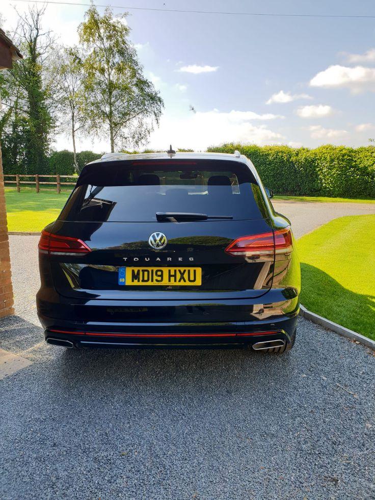 The Volkswagen TOUAREG DIESEL ESTATE 3.0 V6 TDI 4Motion R