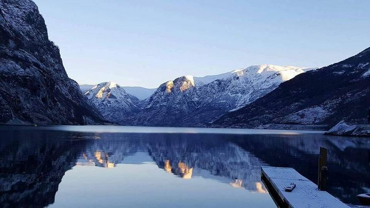 New blog post up on LisaLDN - Visiting the Sognefjord in the Winter