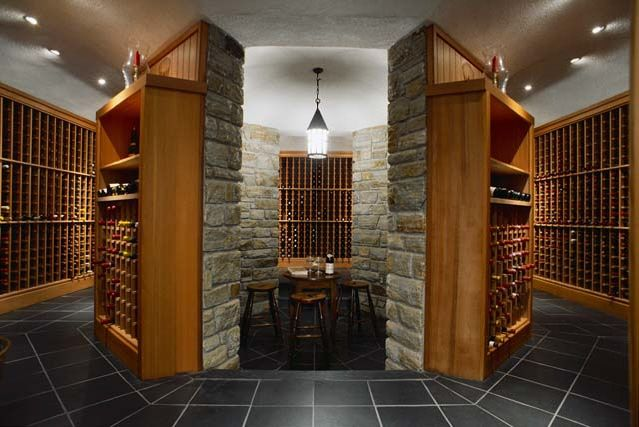 17 best images about wine cellar on pinterest modern for Luxury home wine cellars