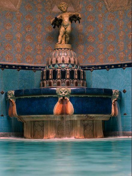 Art Nouveau Gellért Thermal Bath   Budapest