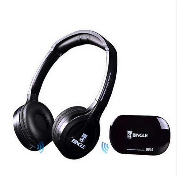 Wireless TV Headset Cordless Headphone with FM Radio wireless headphone Earphone For TV wireless Casque sans fil