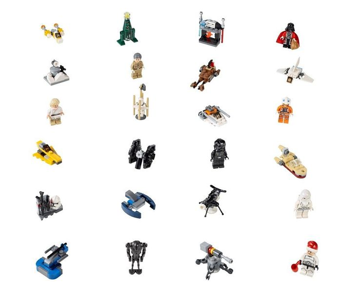 Amazon.com: LEGO Star Wars Advent Calendar 75056(Discontinued by manufacturer): Toys & Games