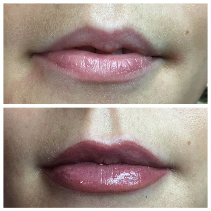 Gorgeous lip blush for a gorgeous bride to be! This will heal around 30% softer for a soft dusky pink effect 💕💋