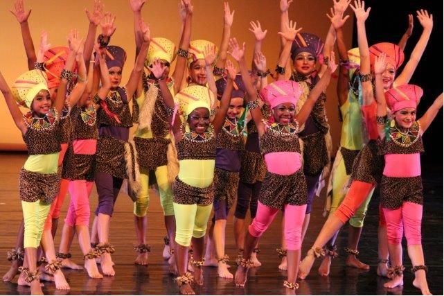 The Kim Field Academy's flagship Dance team the Brat Pack perform at the New Prague Dance Festival.