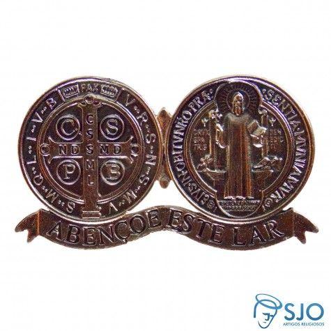 Medalhão de São Bento com Ímã