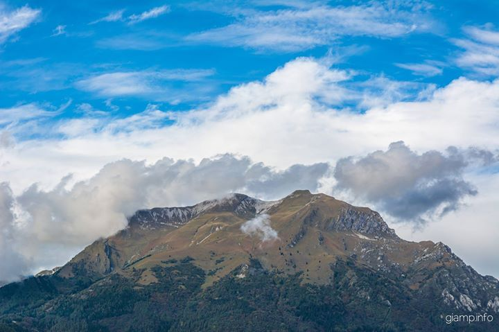 #monte #serva #mountains #belluno #veneto #italy #clouds Blog | giamp.info | creative solutions 2.0