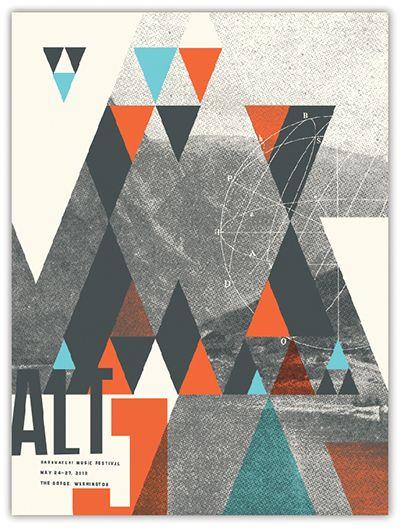 Alt-J at Sasquatch, by Dan Padavic, Vahalla Studios | vahallastudios.com