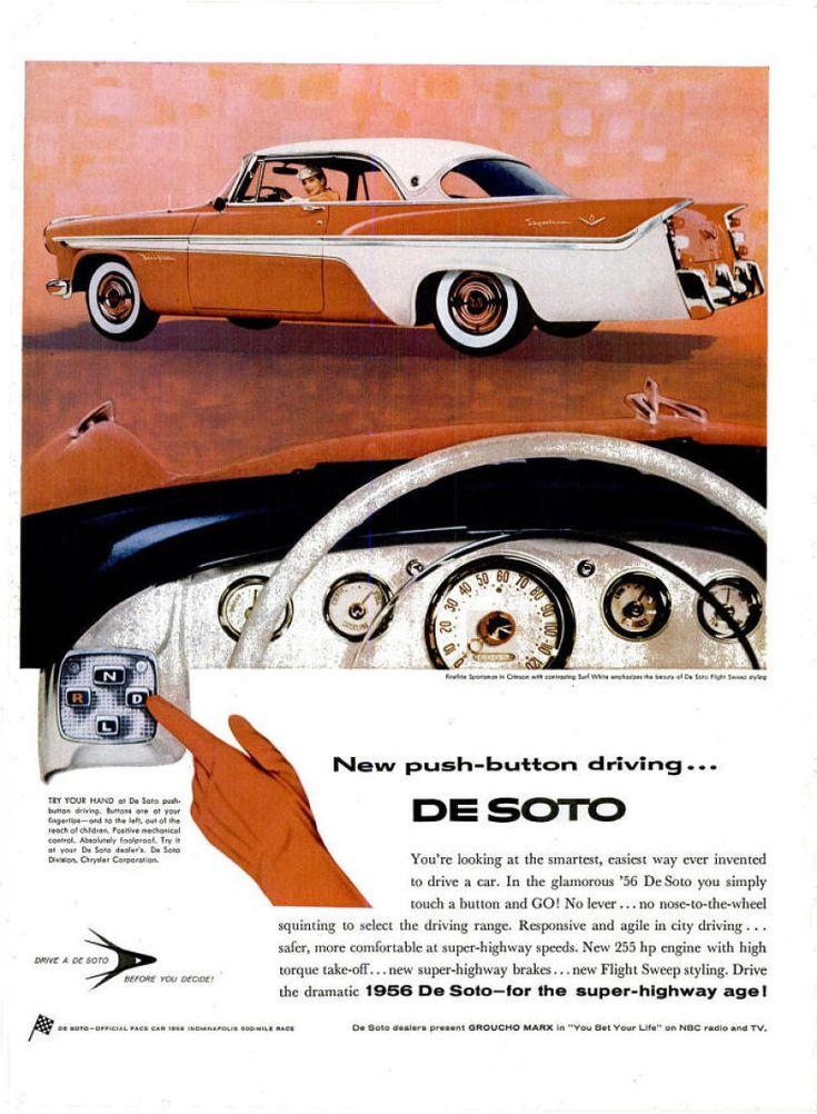 1956 DeSoto Fireflite Sportsman Two Door Hardtop