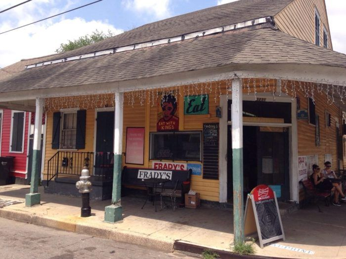1) Frady's One Stop Food Store, 3231 Dauphine St.