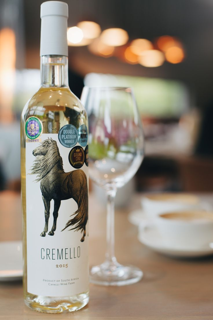 The award winning #CavalliEstate's Cremello 2015!   Old Mutual Trophy Wine Show: 2016 Trophy