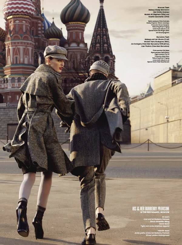 """Let's Do it All Over the World"": Hana Soukupova and Ali Stephens by Will Davidson for V"