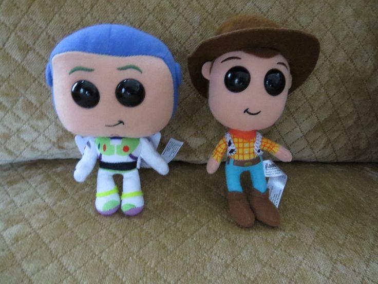 Funko POP! Woody & Buzz Lightyear Plushies  Toy Story 7 Inch Plush Dolls