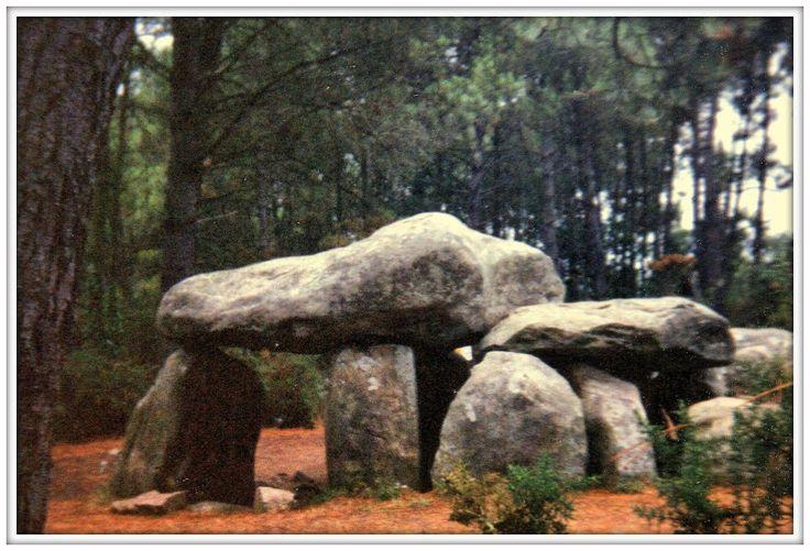 Allineamenti di Carnac.Bretagna, 1992