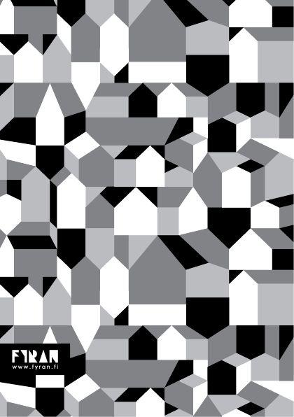 Mönsterkollektivet FYRAN / Pattern / Småstad