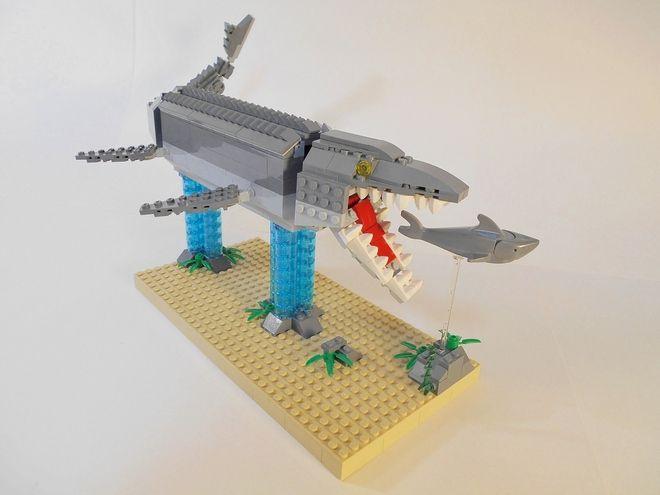LEGO Ideas - Jurassic World Mosasaurus