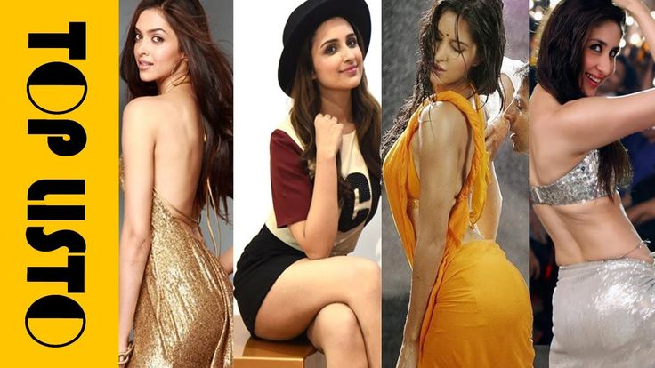 Top 10 Bollywood Actress With Sexiest Butts | Round Shaped Booty