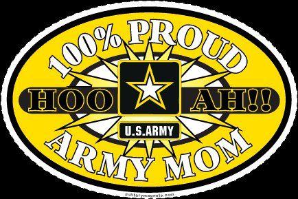 100% Proud Army Mom - MilitaryAvenue.com