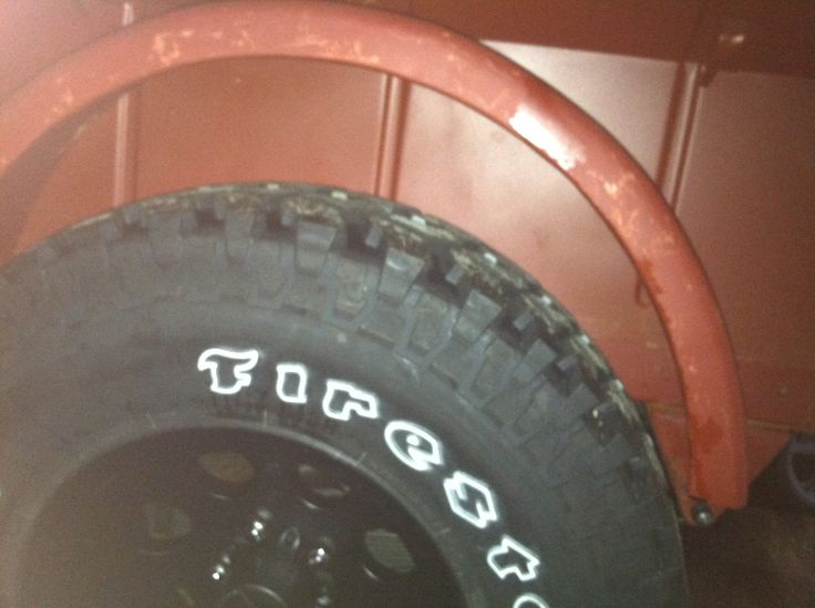 Fenders to tub sizing