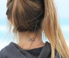 #infinite #tattoo #girl #neck: Tattoo Ideas, Infinity Tattoos, Tattoo Inspiration, Body Art, Tattoos Piercings, Tattoo Girl, Tatoo, Ink