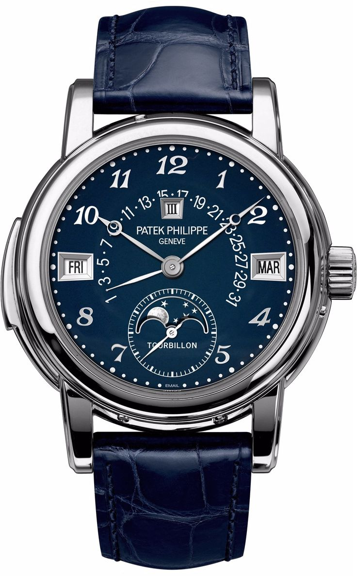 """We're thrilled by this unique creation by Patek Philippe for #onlywatch2015. Combining three """"grand"""" complications prized by collectors - a tourbillon, minute repeater, and perpetual calendar with..."""