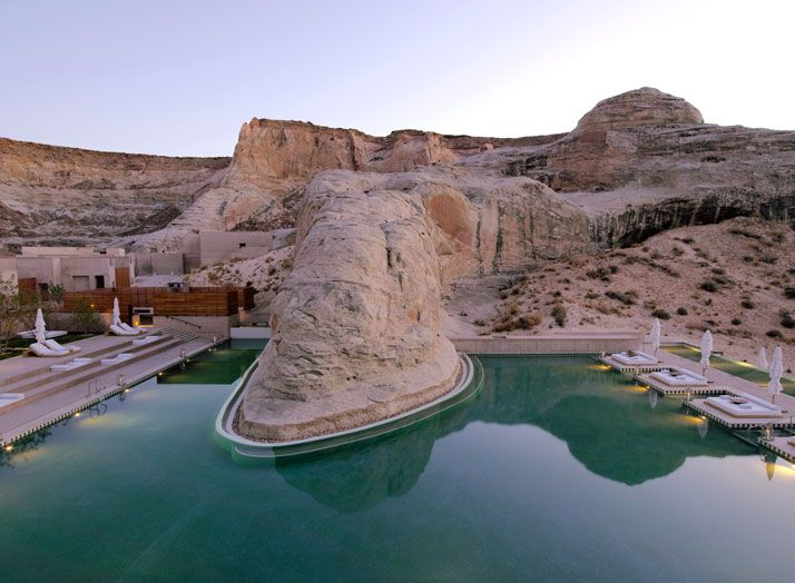 Amangiri Luxury Resort in Canyon Point