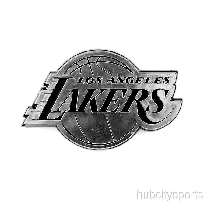awesome Los Angeles Lakers Logo 3D Chrome Auto Decal Sticker NEW!! Truck or Car!!!   Check more at http://harmonisproduction.com/los-angeles-lakers-logo-3d-chrome-auto-decal-sticker-new-truck-or-car/