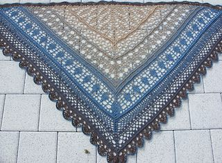 """English pattern with chart added, """"Edlothia"""" free download Ravelry"""