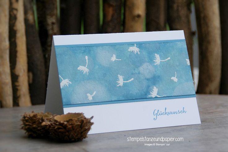 stempelstanzeundpapier: Global Design Project 031 - Karte Pusteblumen/Dandelions Stampin' Up! #GDP031 #stampinup #partyballons