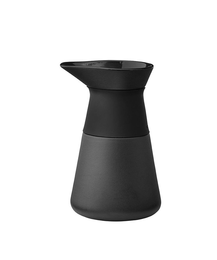 The award-winning Theo product range includes a practical and elegant milk jug for the milk loving coffee drinkers. | huntingforgeorge.com