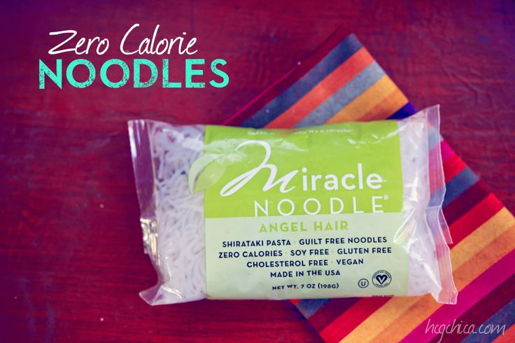 Miracle Noodles Okay for hCG Diet - hcgchica.com