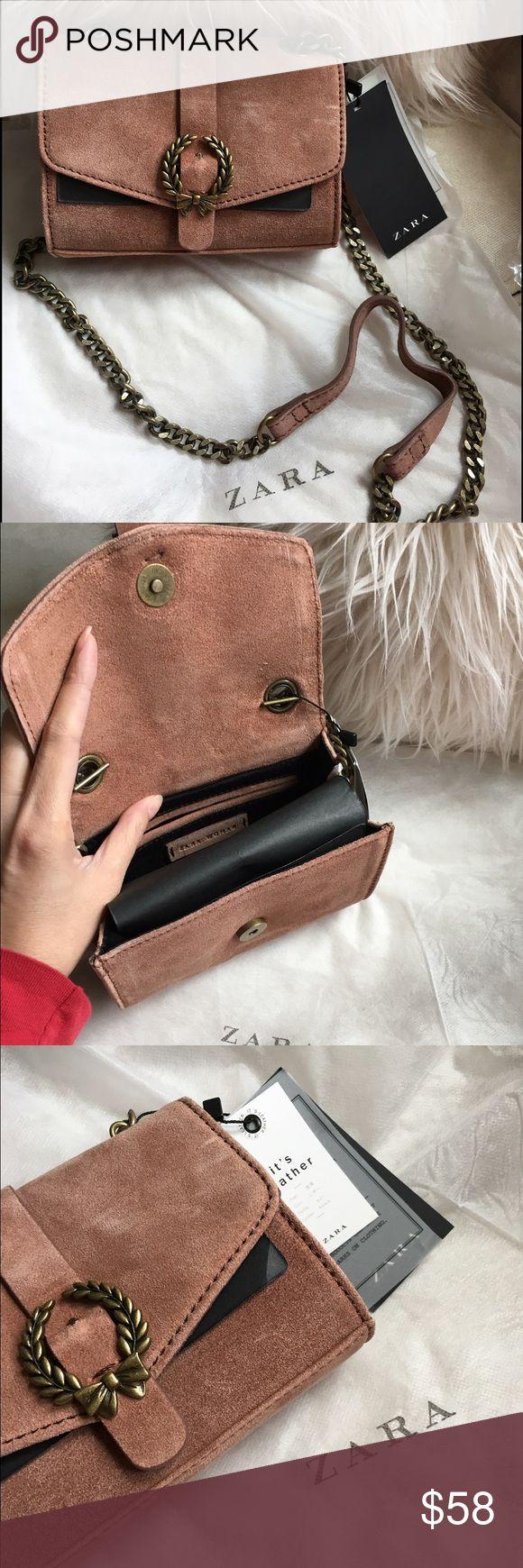 Zara Leather Crossbody Bag NEW ;;; NEVER BEEN WORN Zara Bags Crossbody Bags