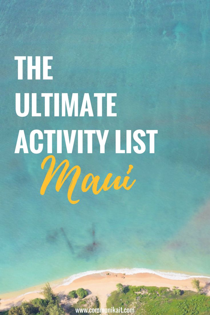 The ultimate breakdown on where to eat, what to see, where to stay, hikes, history and so much more! Welcome to Maui :)