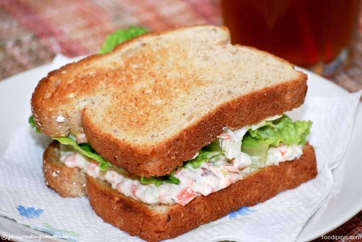 "Chicken salad recipe ""Pinoy"" style!"
