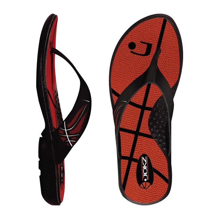 Basketball Flip Flops / Basketball Sandals / Basketball Shoes from Jukz Shoes!