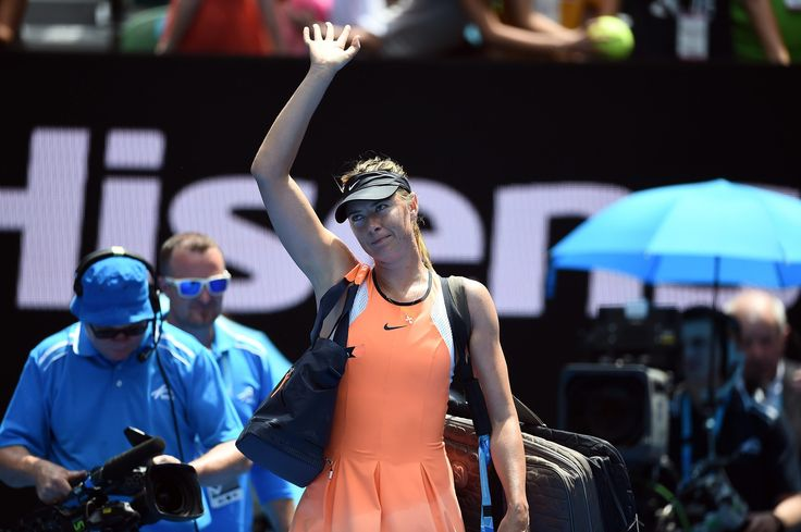 Tennis star  Maria Sharapova  will hold a news conference Monday to make what her agent called a major announcement