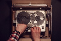 Dictaphone Parcel animation - awarded the Passion Pictures Prize in London