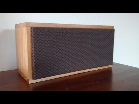 Caixa de som bluetooth DIY com falante 6X9 - YouTube