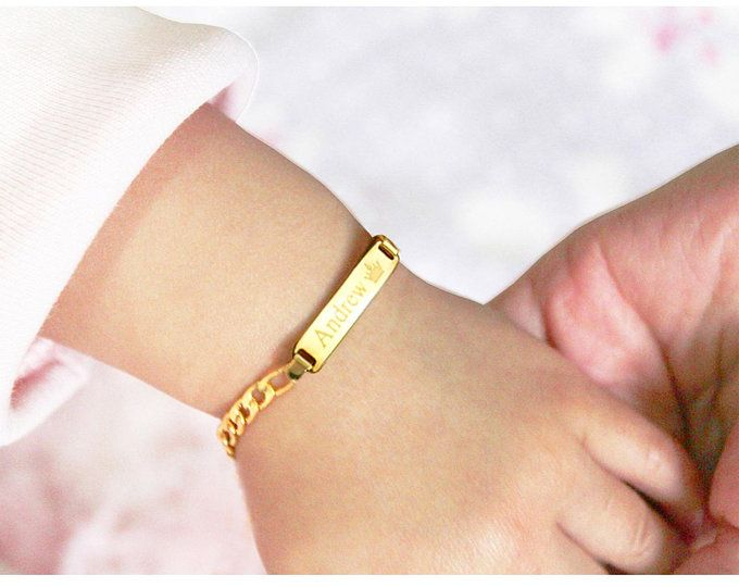 Personalized Gold And Pearl Baby Bracelet Initial Bracelet Baby Shower Gift Baby Girl Toddler Bracelet Christening Gift Baptism Bracelet In 2021 Baby Girl Bracelet Baby Bracelet Gold Baby Bracelet