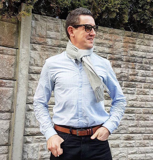 Shades denim & grandad shirt = That Friday Feeling . . . #ootd #ootdmen #outfit #outfitoftheday #instastyle #ootdshare #menslook #menswear #mensweardaily #menstyle #mensfashion #styleblogger #instablogger #fashionblogger #fashion #tgif #friday #men #me #mylook #lookoftheday #menstyle #gentlemen #ukblogger #blog #blogger #followtrain #menswearblogger #irishblogger