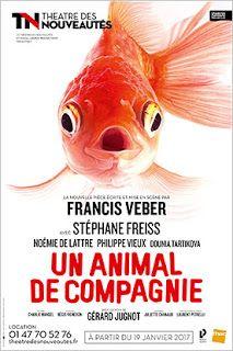 Mon avis #théâtre : Un animal de compagnie de Francis Veber avec Stéphane Freiss