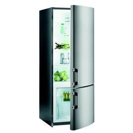 9400, a++, 160cm,Lednička kombinovaná s mrazničkou dole GORENJE RK 61620 X s možností záměny otevírání dvířek, v energetické třídě A++ a celkovým objemem 285 litrů.