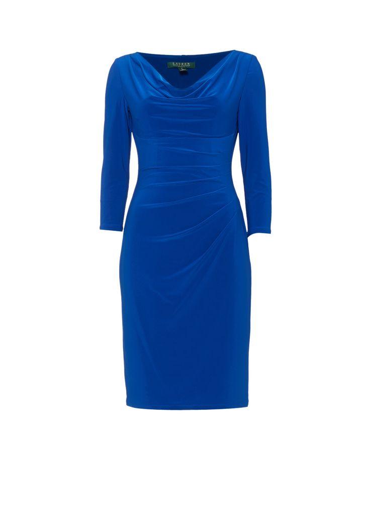 Ralph Lauren Gedrapeerde jurk